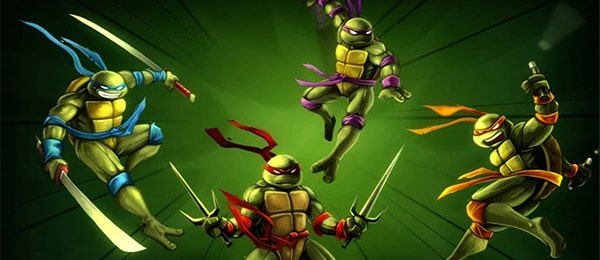 navn ninja turtles